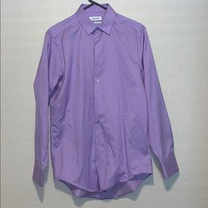 Men's Purple Dress Shirt Sz. 15 32/33